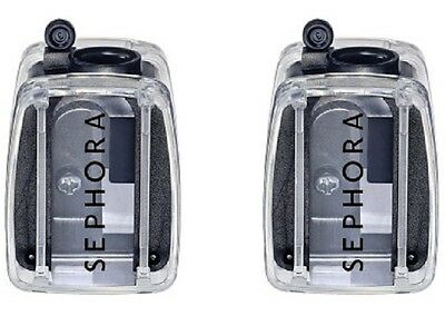 * NEED $ SALE * NEW Sephora Clear Hinged Professional Quality Pencil Sharpener