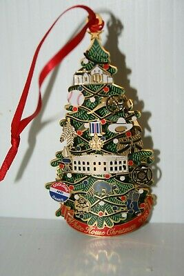 White House Historical Association 2015 Christmas Ornament Coolidge *LIGHTS UP*