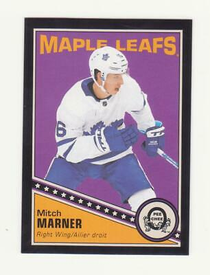 2019-20 O-Pee-Chee Mitch Marner Black Border Parallel Card # 084/100 (19-20) OPC