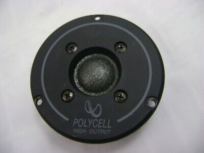 Infinity Polycell High Output  902-4270  Tweeter Single     Tested Working  Nice