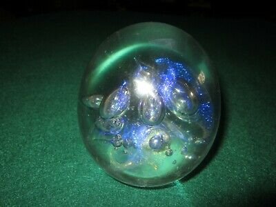 Robert Eickholt Paperweight Signed And Dated 1995