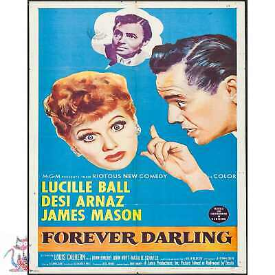 Forever Darling Lucille Ball Vintage Retro Poster / Photo / Canvas / Coffee Cup