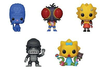Funko Pop! Television - The Simpsons Treehouse of Horrors - Set of 5! Brand New!