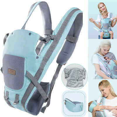 Baby Carrier Sling Wrap Backpack Front Back Chest Ergonomic with Removable cap