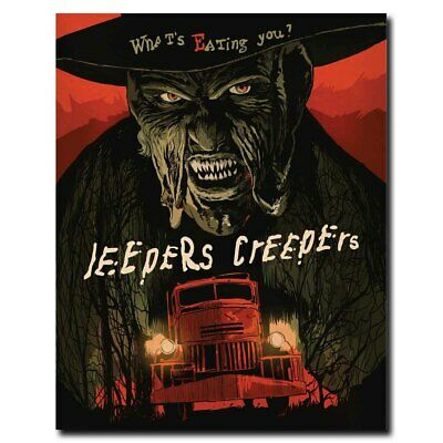Jeepers Creepers 3 12x16inch Horror Movie Silk Poster Room Door Decal Art Print