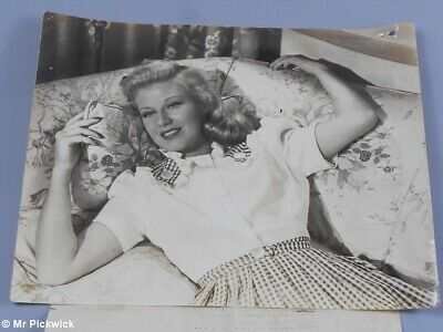Old Movie Actor Photo Unsigned Ginger Rogers Tender Comrade Radio Pictures
