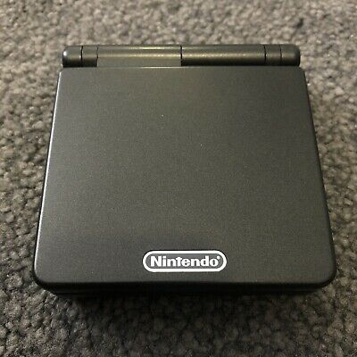 Nintendo Game Boy Advance SP Black + Charger + Game