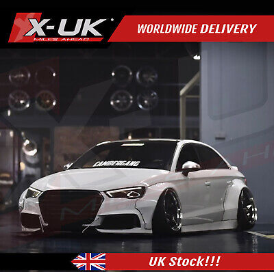 Audi A3 / S3 8V 2012-2015 Wide body conversion fits saloon / sedan