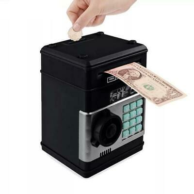 Electronic Piggy Bank ATM Password Money Box Cash Deposit Case Coins Saving Box