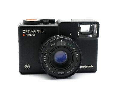 AGFA Optima 335 mit-with Agnatar 1:3,5 / 40mm  (01502)