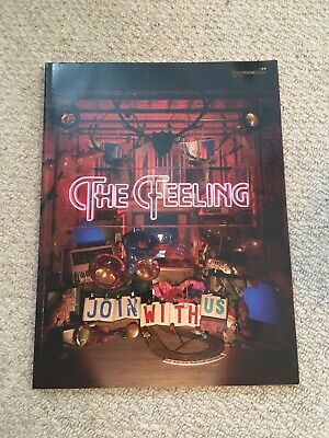 The Feeling Join With Us PVG Learn to Play Piano Vocal & Guitar SHEET MUSIC BOOK