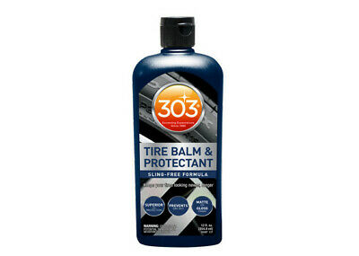 303 Tyre Balm & Protectant - Protects Tyres from Fading, Cracking & UV