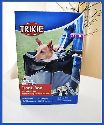 DOG CAT PET CARRIER TRIXIE Front Box Safe Travel Basket Up to 7 kg BNIB
