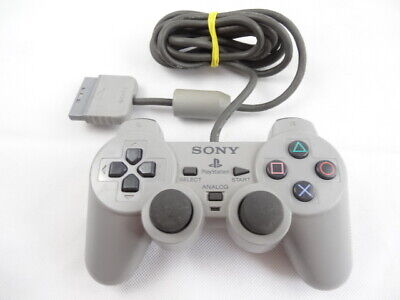 Official PS1 PlayStation 1 Dual Shock SCPH-1200 Grey