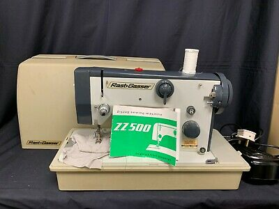 Vintage Rast & Gasser Zigzag sewing machine collectable