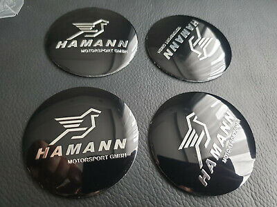4* logo autocollant ALU Hamann 56mm Embleme badge cache jante replique 56 BMW 56