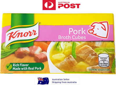 KNORR Pork Broth Cubes Pork stock cubes - 6 cubes