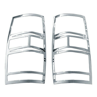 Triple Chrome Plated 07-14 Chevy Suburban Tahoe ABS Tail Light Bezel Cover