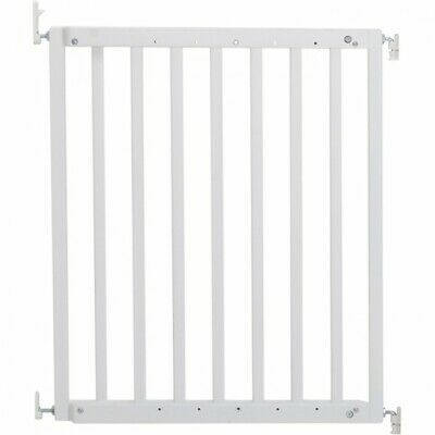 Callowesse Kemble Screwfit Baby Gate - White Wood - 63-103.5cm
