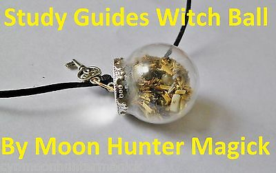 Study Guides Good Grades Test Exam Spell Mini Witch Ball© Pagan Wicca Witch