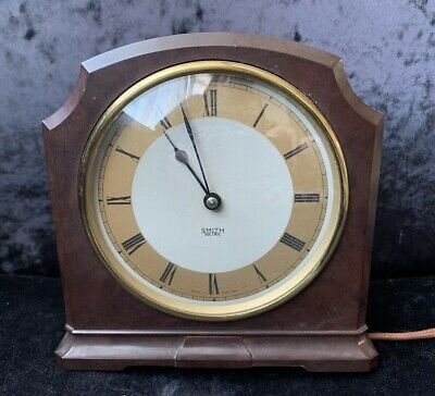 Art Deco Bakelite Smiths Sectric Mantel Clock - Untested
