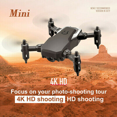 Mini Foldable RC Drone 4K HD Camera Wifi FPV Optical Flow 6-Axis Gyro Quadcopter