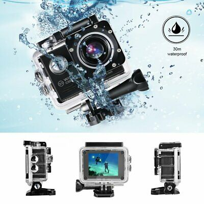 4K Ultra Full HD 1080P Video Sports Recorder Action DV Camera WiFi Waterproof BR