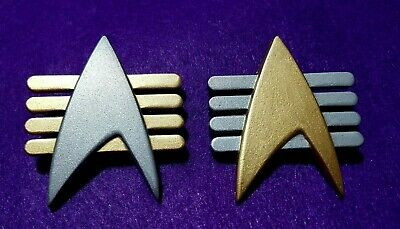 Star Trek The Next Generation Communicator Pin FUTURE IMPERFECT CAPTAIN ADMIRAL
