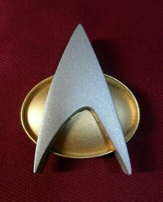 Star Trek The Next Generation Uniform Communicator Pin Combadge Badge Costume