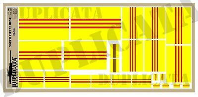 Diorama/Model Accessory - South Vietnamese Flag - 1/72, 1/48, 1/32, 1/35 Scales