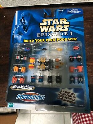 1999 Star Wars Episode I Micro Machines Pod Racing
