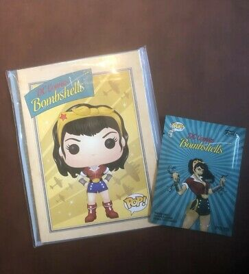 FUNKO DC Bombshells (Wonder Woman Notebook with Trade Cards) Target Exclusive
