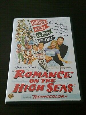 Romance on the High Seas 1947 (DVD, 2007)   Doris Day, Jack Carson, Janis Paige