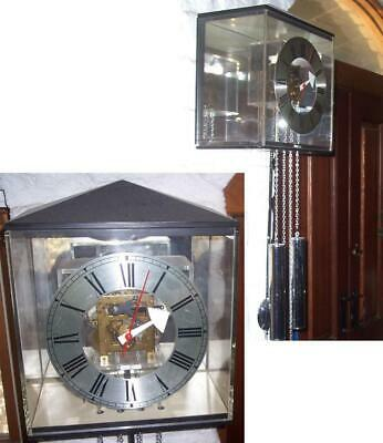 Vintage George Nelson Lucite Acrylic Wall Clock by Howard Miller