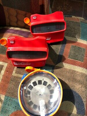 Lot of 20 view master reels & 2 view masters