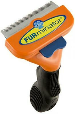 Furminator DeShedding Tool for Medium Dogs with Short Hair and Long Hair