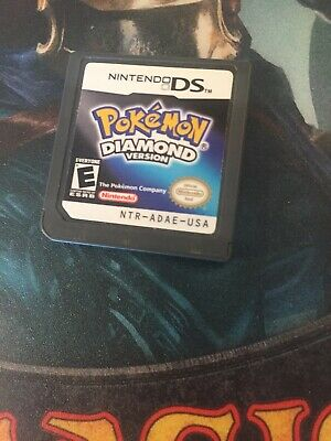 Pokemon:Diamond Version(Nintendo DS, 2007)Game Only for Nintendo DS TESTED