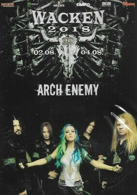 Arch Enemy Live At Wacken Open Air Germany 8/02 Thu 8/04/18 DVD