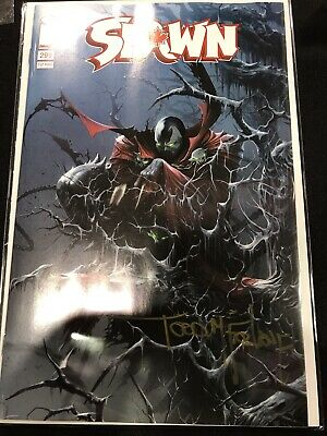 Image Spawn #299 Fan Expo Signed Todd Mcfarlane Variant Ltd 1000