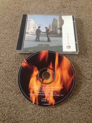 PINK FLOYD Wish You Were Here CD Gilmour Waters Shine On You Crazy Diamond 1 & 2