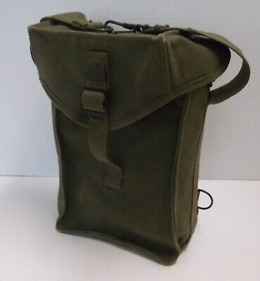 US Army WW2 1944 General Purpose Ammunition Bag Olive Drab Ammo Carrier Pack