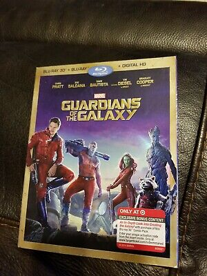 Guardians Of The Galaxy 3d Blueray