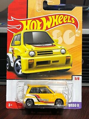 2019 HOT WHEELS Target Throwback '85 Honda City Turbo II Retro YELLOW