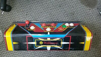 Williams STARGATE Arcade Video Game CONTROL PANEL as you see it