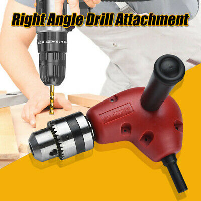 Angle Adaptor Metal Gear 90 Degree Right Angle Drill Attachment Extension Bend