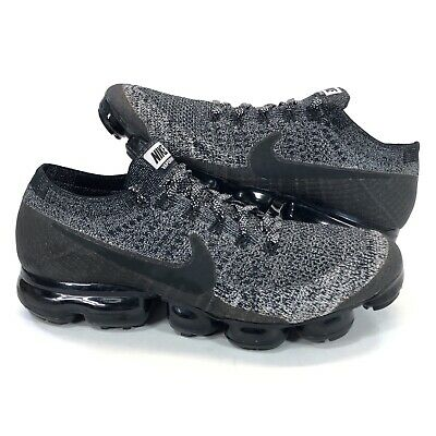 Nike Air Vapormax 2.0 Mens Size 11 Flyknit Shoes Black /White OREO 849558-041