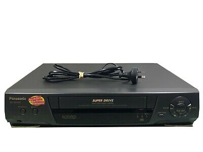 PANASONIC NV-SD220A VCR/VHS Player / Recorder Good Cosmetic Condition No Remote
