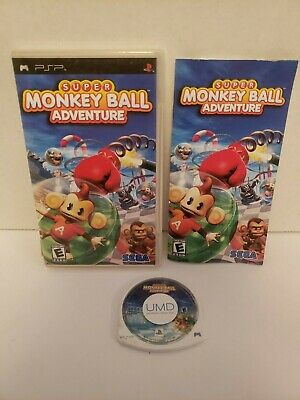 Super Monkey Ball Adventure Sony PSP Complete