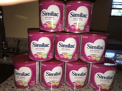 Similac Soy Isomil 12.4 oz - 9 cans - FAST Shipping