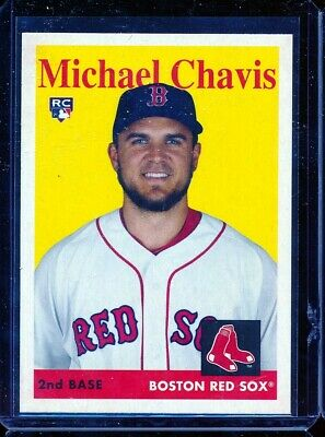 2019 Topps Archives 1958 RC Rookie 4 Michael Chavis